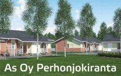 Kuvassa Perhon kunnan vuokra-asunto Perhonjokiranta.